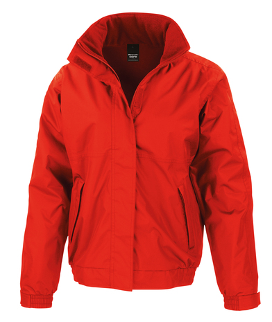 Core Channel Jacket In Red