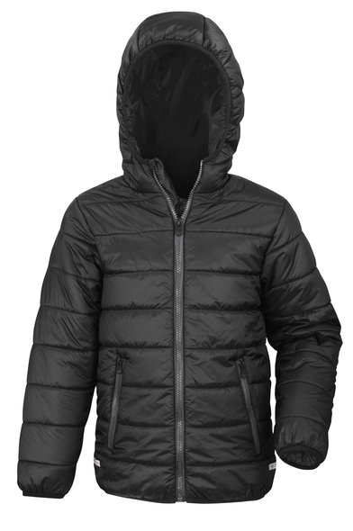 Core Junior Soft Padded Jacket In Black
