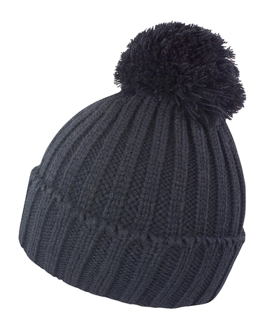 HDI Quest Knitted Hat In Black