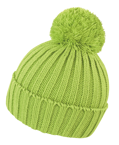 HDI Quest Knitted Hat In Lime