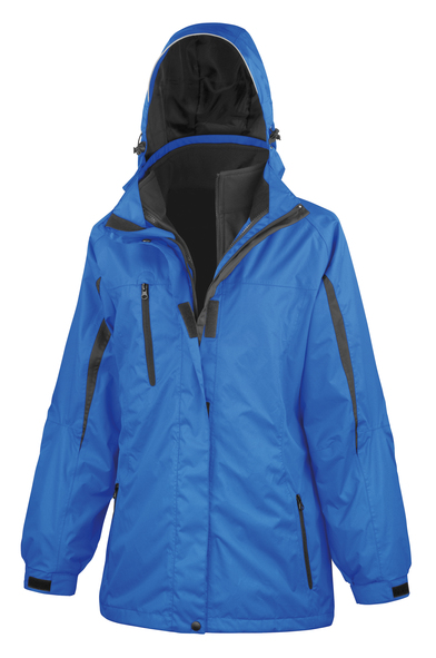 Result - Women's 3-in-1 Journey Jacket With Softshell Inner