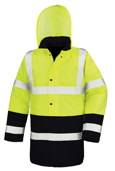 Result Core - Motorway Two-tone Safety Coat