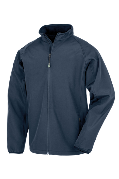 Result Genuine Recycled - Men's Recycled 2-layer Printable Softshell Jacket