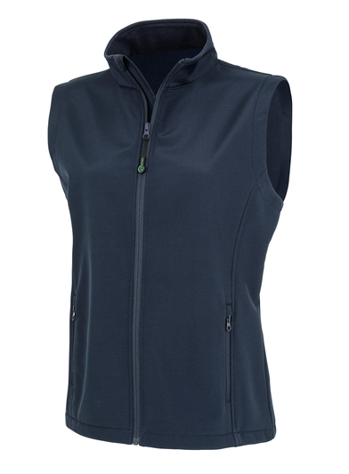 Result Genuine Recycled - Women's Recycled 2-layer Printable Softshell Bodywarmer