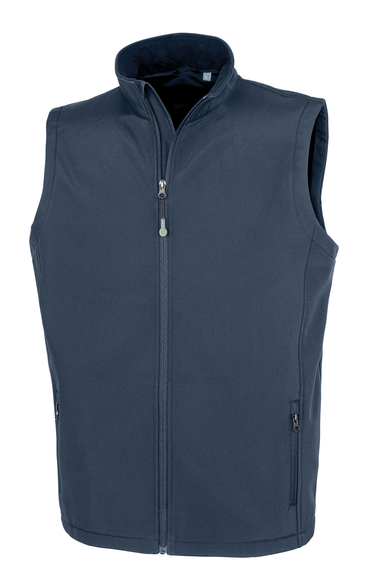 Result Genuine Recycled - Men's Recycled 2-layer Printable Softshell Bodywarmer