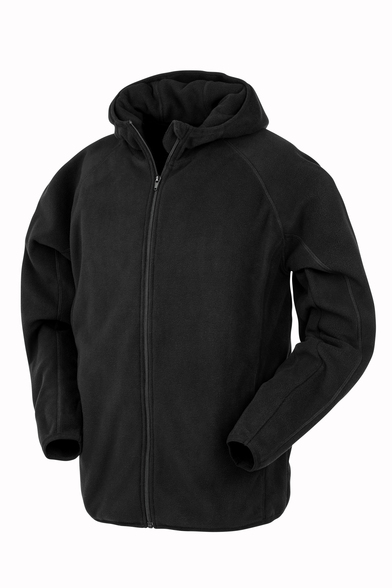 Result Genuine Recycled - Recycled Hooded Microfleece Jacket