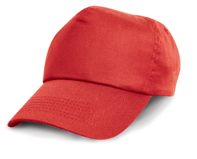 Cotton Cap In Red