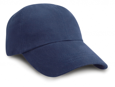 Junior Low-profile Heavy Brushed Cotton Cap In Navy