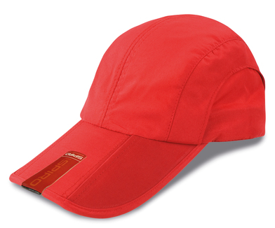 Fold-up Baseball Cap In Red