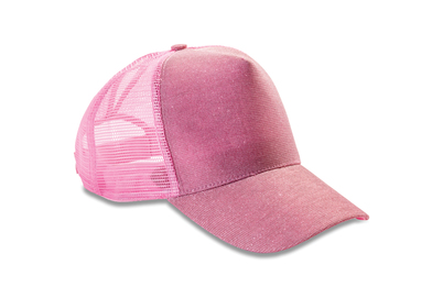 Core New York Sparkle Cap In Baby Pink