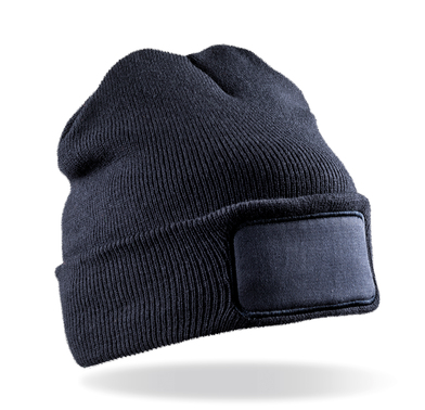 Result Genuine Recycled - Recycled Double Knit Printers Beanie
