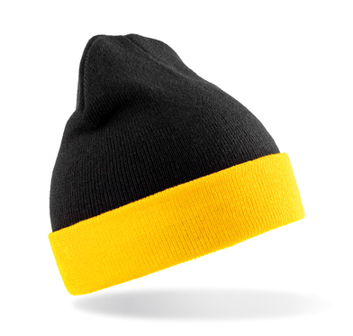 Result Genuine Recycled - Recycled Black Compass Beanie
