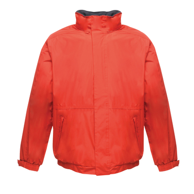Dover Jacket In Classic Red/Navy