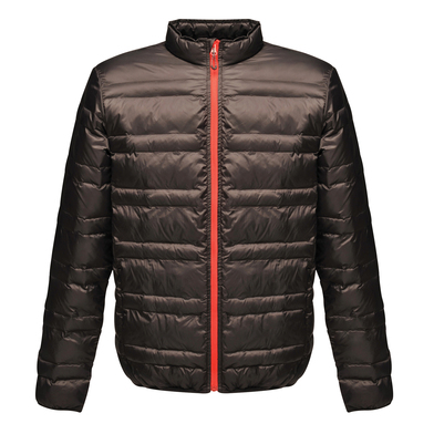Firedown Down-touch Jacket In Black/Red