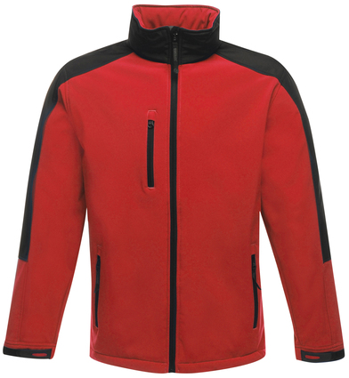 Hydroforce 3-layer Softshell In Classic Red/Black