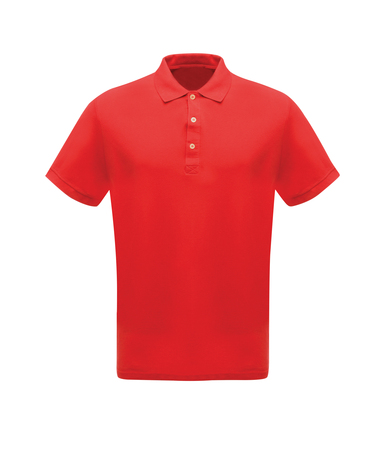 Classic 65/35 Polo Shirt In Classic Red