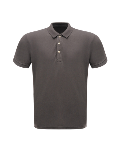 Classic 65/35 Polo Shirt In Seal Grey