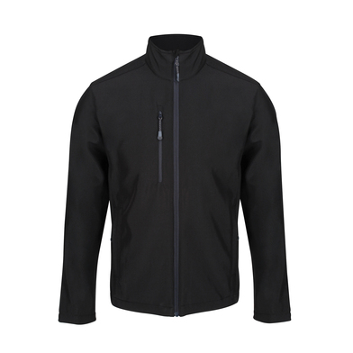 Honestly Made Recycled Softshell Jacket In Black