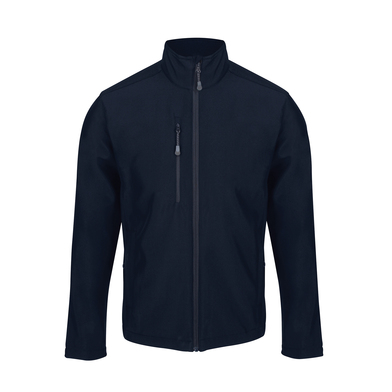 Honestly Made Recycled Softshell Jacket In Navy