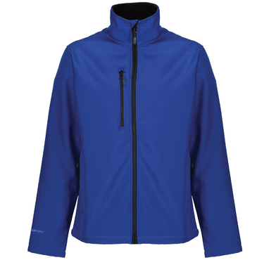 Honestly Made Recycled Softshell Jacket In New Royal