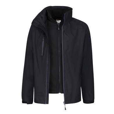 Honestly Made Recycled 3-in-1 Jacket In Black