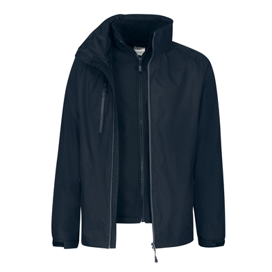 Honestly Made Recycled 3-in-1 Jacket In Navy