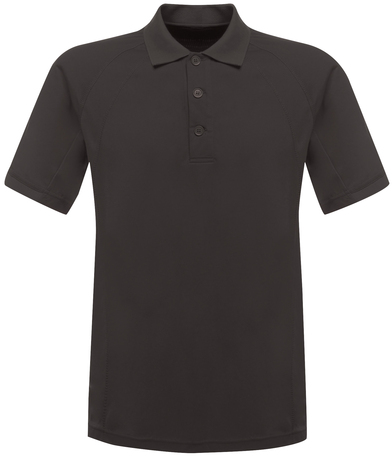Coolweave Polo In Iron