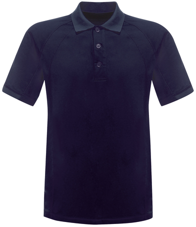 Coolweave Polo In Navy