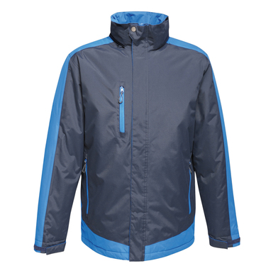 Contrast Insulated Jacket In Navy/New Royal
