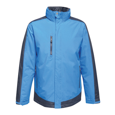 Contrast Insulated Jacket In New Royal/Navy