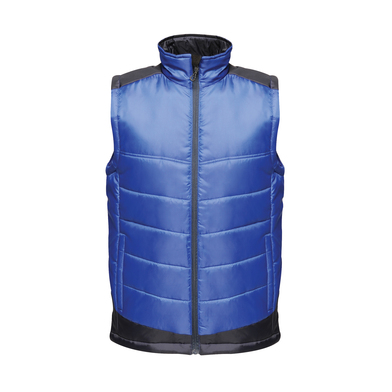 Contrast Insulated Bodywarmer In New Royal/Navy