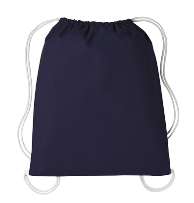 Gymsac With Cords In French Dark Navy/Natural