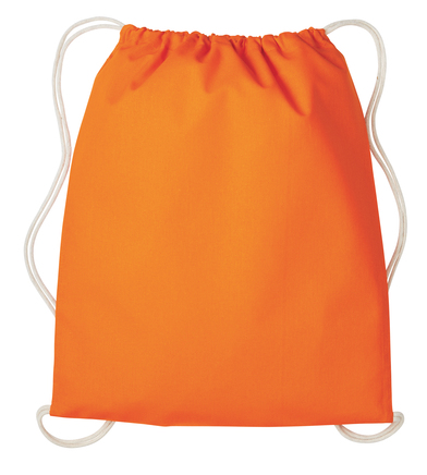 Gymsac With Cords In Orange/Natural