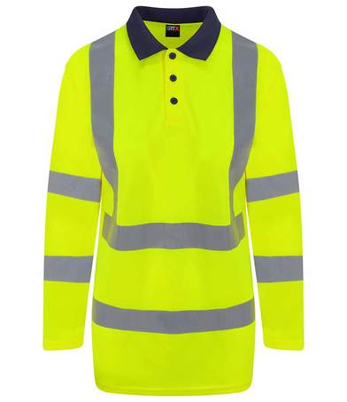 ProRTX High Visibility - High Visibility Long Sleeve Polo