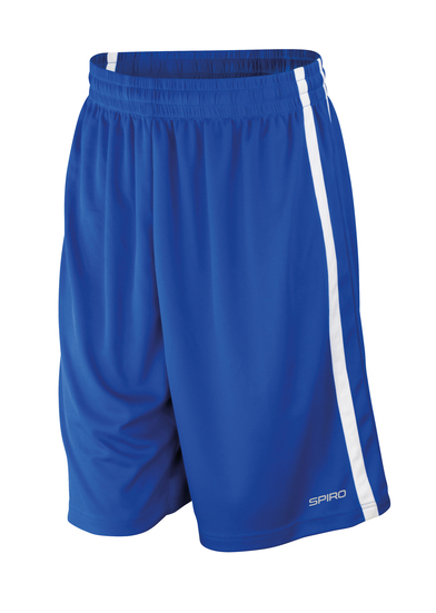 Basketball Quick-dry Shorts In Royal/White