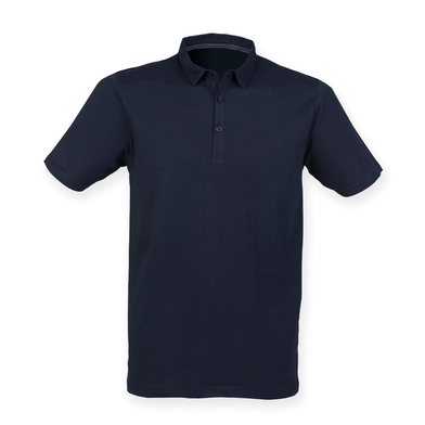 Fashion Polo In Navy