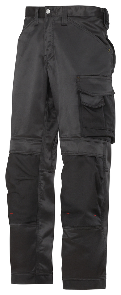 DuraTwill Craftsmen Trousers, Non Holsters (3312) In Black