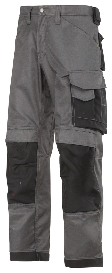 DuraTwill Craftsmen Trousers, Non Holsters (3312) In Muted Black/Black