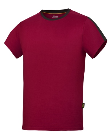AllroundWork T-shirt (2518) In Chilli Red/Black
