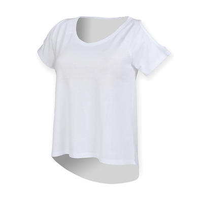 SF - T-shirt With Drop Detail