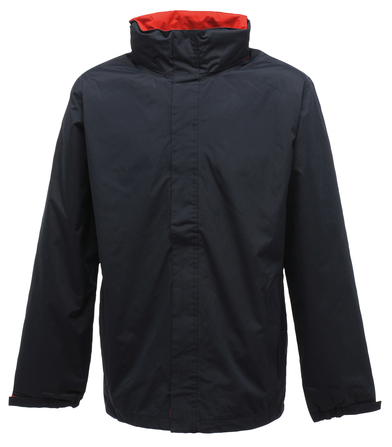 Ardmore Waterproof Shell Jacket In Navy/Classic Red