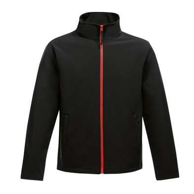 Ablaze Printable Softshell In Black/Classic Red