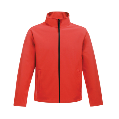 Ablaze Printable Softshell In Classic Red/Black