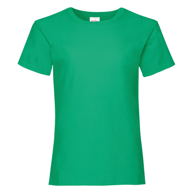 Girls Valueweight T In Kelly Green