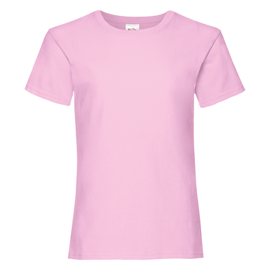 Girls Valueweight T In Light Pink