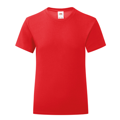 Girls Iconic T In Red