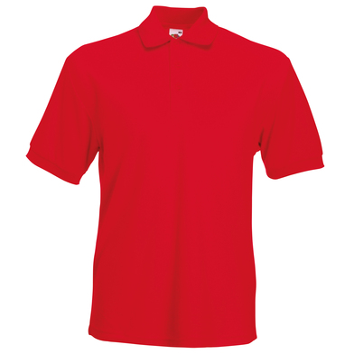 Heavyweight 65/35 Polo In Red