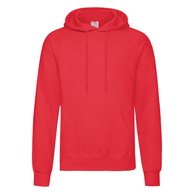 Classic 80/20 Hooded Sweatshirt In Red