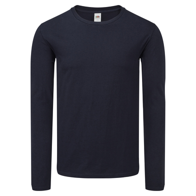 Iconic 150 Classic Long Sleeve T In Deep Navy