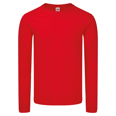 Iconic 150 Classic Long Sleeve T In Red